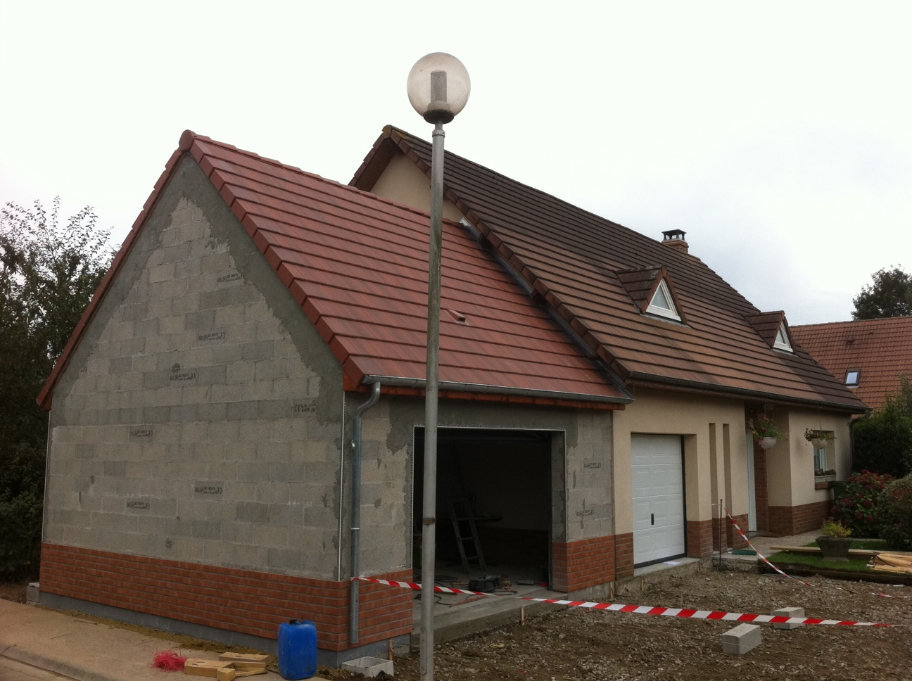 Extension garage bethfort et fils for Devis extension garage