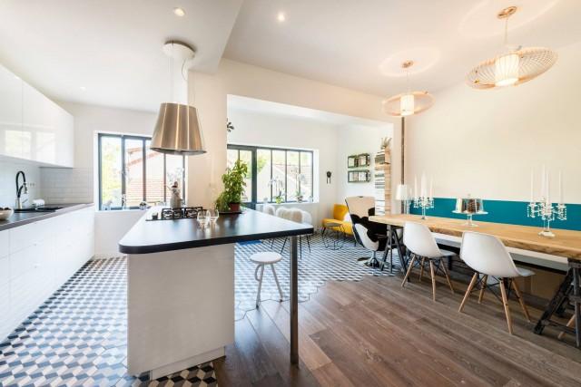 Réhabilitation complète d'une habitation