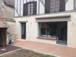 Rénovation d'une habitation avec modification des ouvertures et volumes intérieurs