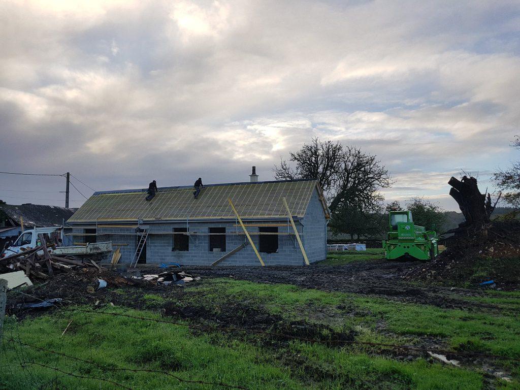 Rénovation d'une ancienne habitation